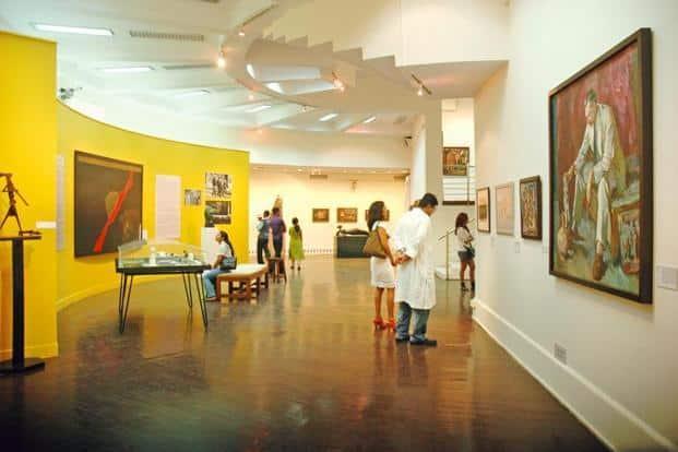 The Homi Bhabha collection at Mumbai's National Gallery of Modern Art. Photo: S. Kumar/Mint