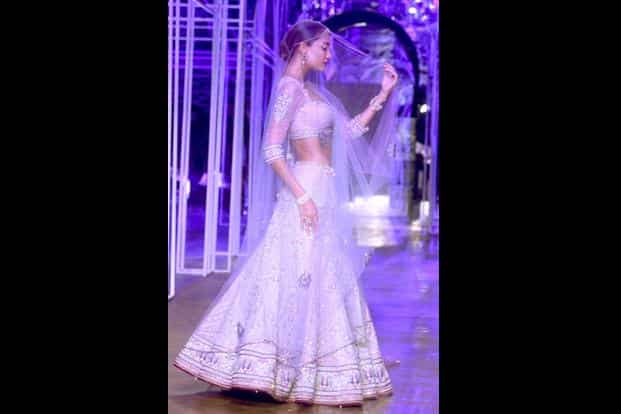 Another from Tarun Tahiliani's Bridal show at Aamby Valley Bridal Week in Delhi in July