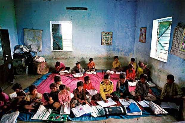 The poor quality of schools and education in India has led to a shortage of skilled labour in the workforce. Photo: Mint