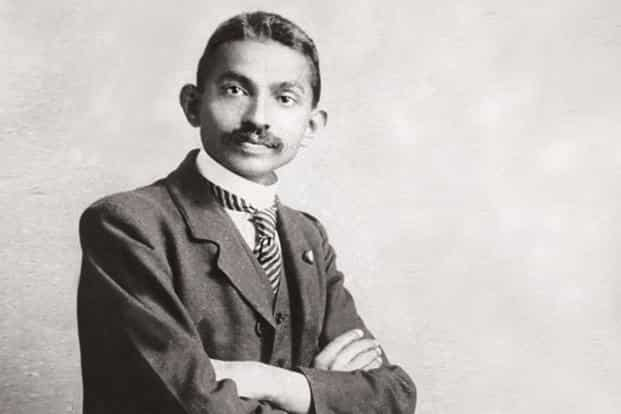 M.K. Gandhi as a lawyer in South Africa, 1906. Photo: Wikimedia Commons