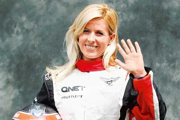 María de Villota was one of the few women  drivers in the male-dominated sport of Formula One. Photo: Daniel Munoz/Reuters