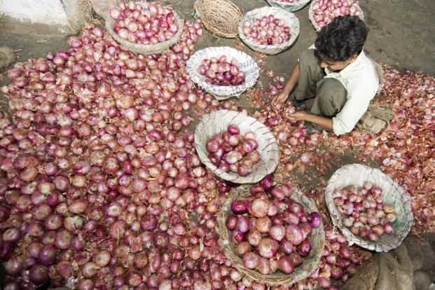 The price of onions is a political hot potato right now, but India has battled persistently high food inflation for many years. Photo: Ramesh Pathania/Mint