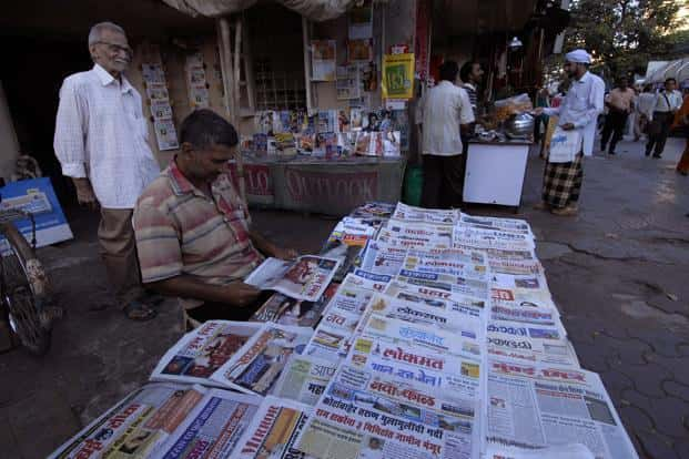 Paid news triggered a controversy after the previous general election in 2009, with media reports claiming several politicians paid publications to put out positive reports on them ahead of the polls. Photo: Mint