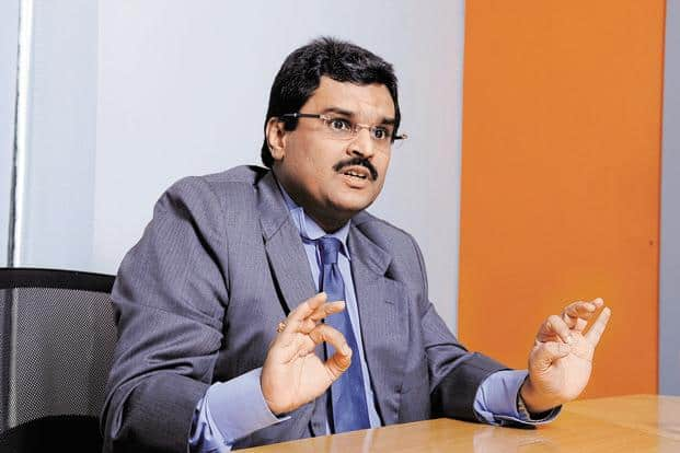 A file photo of Jignesh Shah, chairman and group CEO of Financial Technologies India Ltd. Photo: Abhijit Bhatlekar/ Mint