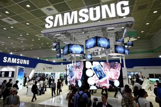 Samsung spends a bigger chunk of its annual revenue on advertising and promotion than any other of the world's top-20 companies by sales. Photo: Bloomberg