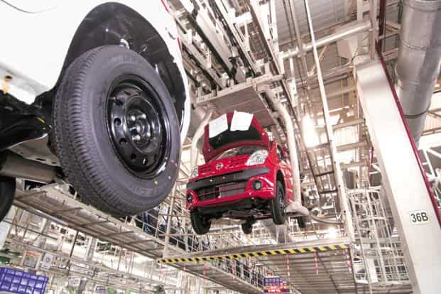 India's automobile industry has entered a phase of stagnation, and so too has organized manufacturing as a whole, as shown by the recent numbers on IIP growth. Photo: Ramesh Pathania/Mint