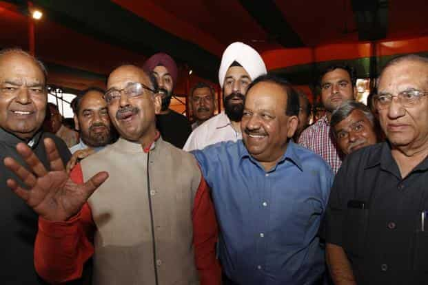 Harsh Vardhan was the health minister of Delhi between 1993-98 when he pioneered the Pulse Polio programme.HT