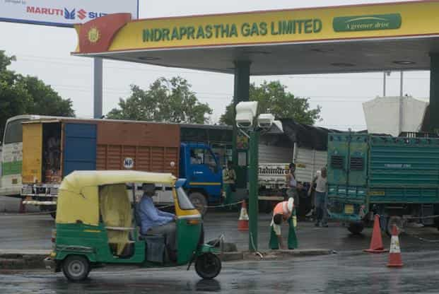 File picture of a CNG station. Photo: Mint