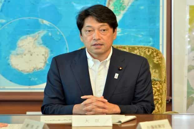 Japan defence minister Itsunori Onodera is on a four-day visit to India and is expected to meet the top political and military leadership of the country to discuss ways to strengthen bilateral military ties. Photo: AFP