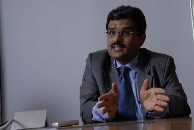 A file photo of Jignesh Shah, founder of Financial Technologies (India) Ltd. Photo: Abhijit Bhatlekar/ Mint