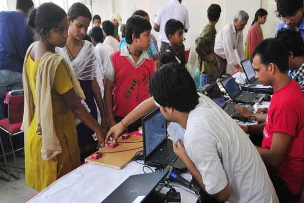There is much more to inclusion than electronic transfers and Aadhaar. The report provides lip service to the last mile and concentrates on financial sector architecture. If only this had been flipped and a large part of the report had focused on the last mile, the architecture could have been fixed in Basel. Photo: Ramesh Pathania/Mint