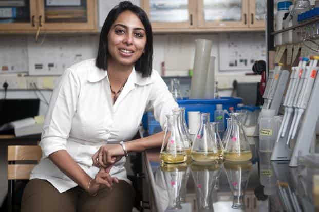 Yamuna Krishnan, 39, is one of eight men and women honoured with this year's Shanti Swarup Bhatnagar prize, awarded to Indian scientists under 45 years of age.  Photo: Aniruddha Chowdhury/Mint