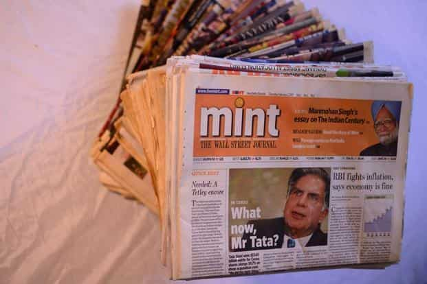 Mint, India's first newspaper to be published in the Berliner format, is launched on 1 February.