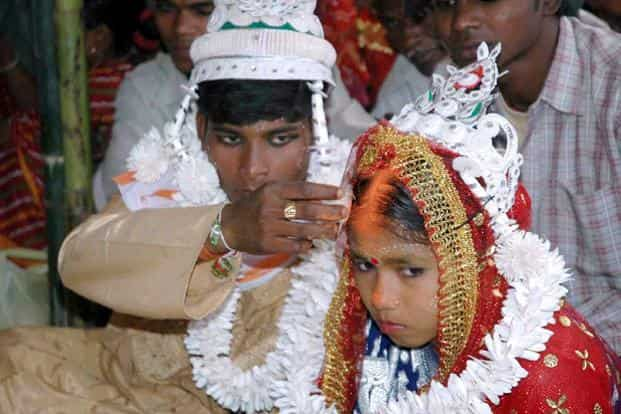 Child marriage comes with considerable negative consequences for millions of girls: less education, fewer employable skills, higher infant and maternal mortality, and more domestic and sexual violence. Photo: AFP