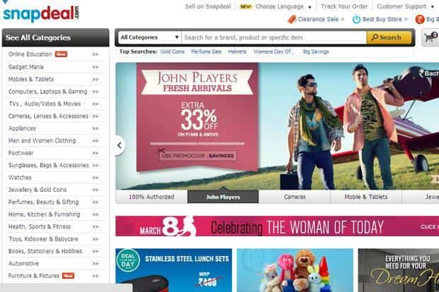 1feaf799e eBay bets on Snapdeal to gain India foothold