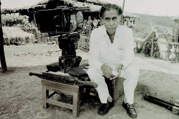 VK Murthy during a 1989 interview for Nasreen Munni Kabir's documentary 'In Search of Guru Dutt'. Photo: Peter Chappell