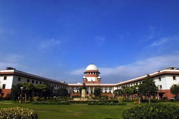 A file photo of Supreme Court of India, New Delhi. Photo: Satish Kaushik/Mint