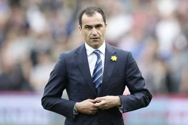 Roberto Martínez Montoliú. Current manager of Everton, the club Moyes coached successfully till he moved to United. AFP