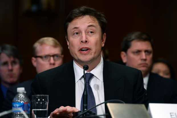 A file photo of Tesla CEO Elon Musk. Musk is fighting battles in many American states so that his company can sell its electric cars directly to the consumer, instead of through auto retailers. Photo: AFP
