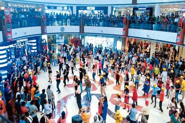 A flash mob generating awareness about autism in New Delhi