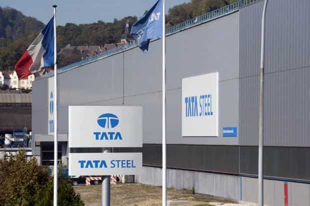 Shares of Tata Steel shot up to a 27-month high on Wednesday ahead of the results. Shares of the company on the BSE closed at `452.15, up 5.91% from a day ago. Photo: AFP