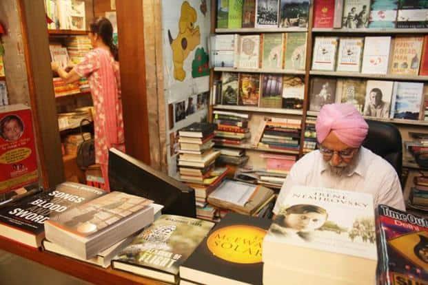 Kanwarjit Singh Dhingra with his wife Nini in the background. Photographs by Mayank Austen Soofi