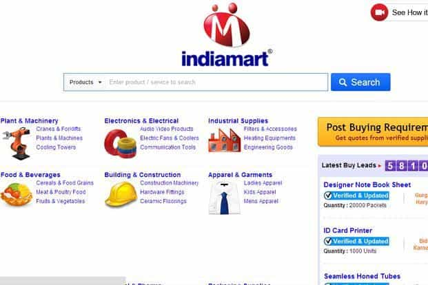 Indiamart, which started out as an online directory for businesses in India, is currently backed by Intel Capital with Bennett, Coleman & Company Ltd as one of its investors.