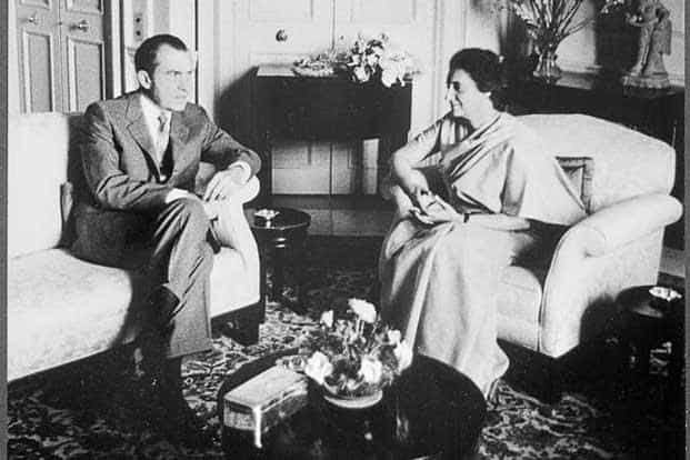 Science Essay  Indira Gandhi And Richard Nixon Meeting On  July  Photo  Wikimedia Commons Apa Format For Essay Paper also High School Narrative Essay Essay  Troubling Truths Abraham Lincoln Essay Paper