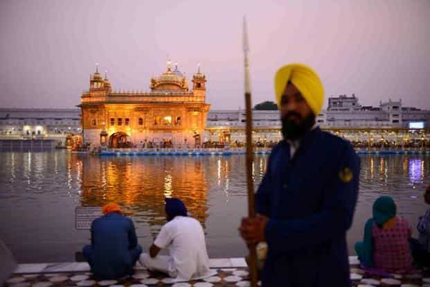 A view of the Golden temple in Amritsar, Punjab. The temple is sacred to all Sikhs and is also revered by other communities. After that brief period of militancy, it has been restored to its former glory. Mint