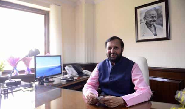 Environment minister Prakash Javadekar on World Environment Day said process of online submission of documents for environment clearances had become operational on Thursday. Photo: PTI