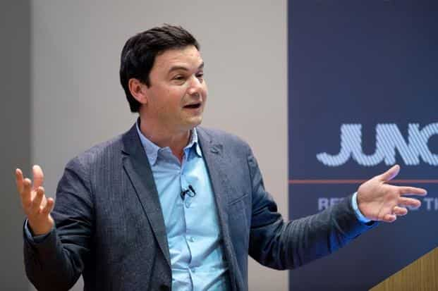 A file photo of French economist Thomas Piketty. Photo: AFP