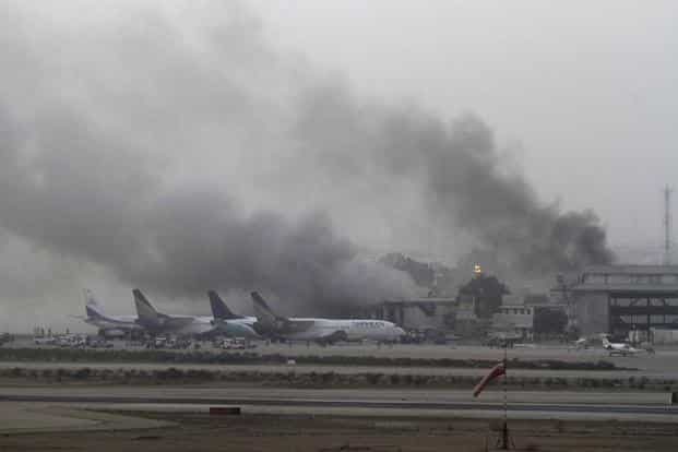Taliban's attack at Karachi airport stalls peace talks with