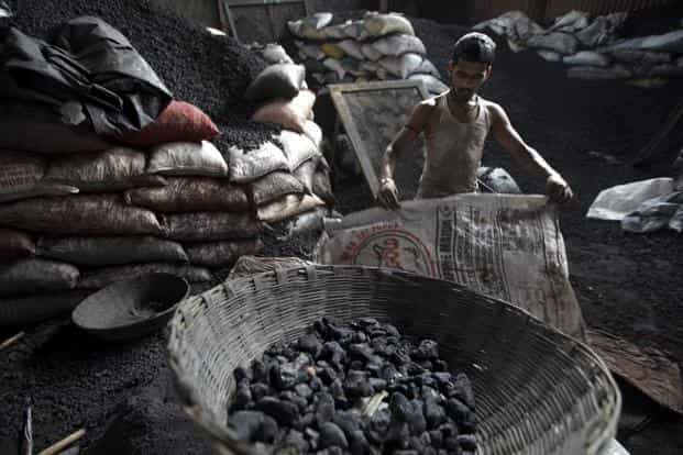 In the year ended 31 March, state-owned Coal India reported a production deficit of around 20 million tonnes.  Photo: Bloomberg