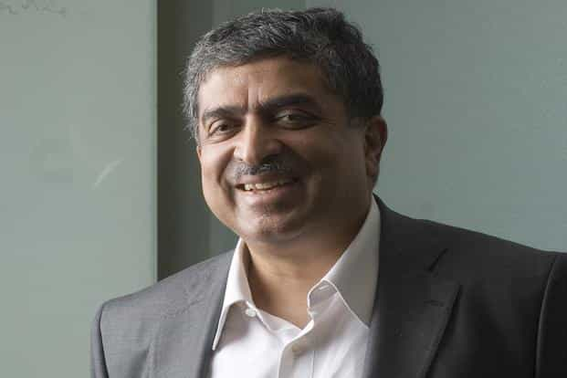 Nandan Nilekani: Also a co-founder of Infosys, Nilekani served as its CEO from March 2002 to April 2007. He left Infosys in July 2009 to serve as the chairperson of the Unique Identification Authority of India and launched the Aadhar card scheme. Mint