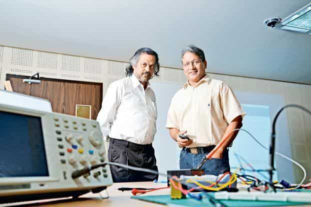 JED-I, which stands for the joy of engineering design and innovation, was launched in 2010 by Indian Institute of Science professors Swami Manohar (right) and V. Vinay. Photo: Hemant Mishra/Mint