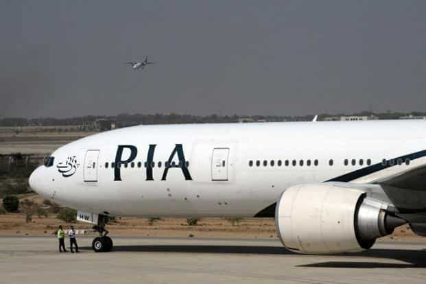 The plane was carrying 196 passengers, says PIA spokesman, adding the woman who was killed was a Pakistani citizen. Photo: AFP