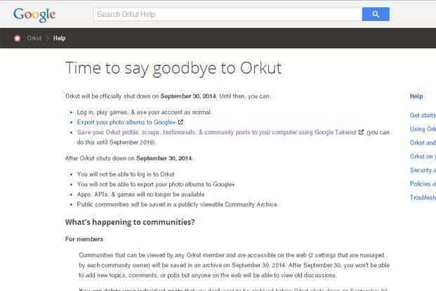 Orkut, which popularised posts or 'scraps' between friends, did not disclose the number of users on the website. However, according to its website about 50.6% of its users were from Brazil.