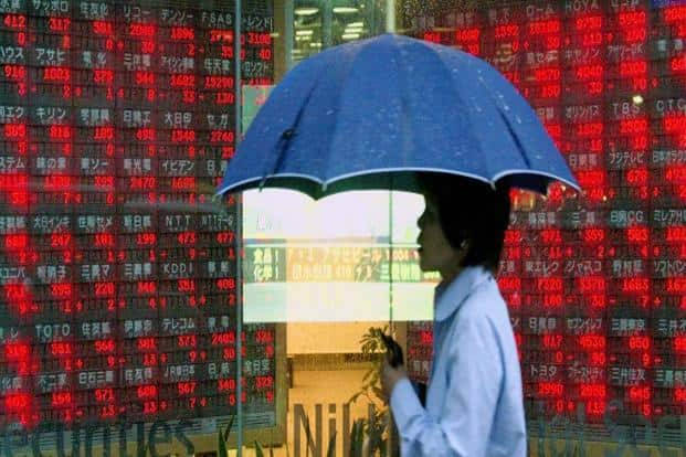 Asian Stocks Are Little Changed Near Six Year High As Aeon Drops