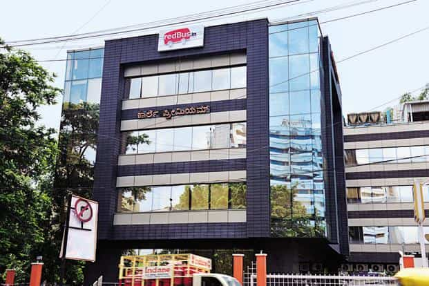 The redBus office in Bangalore. The bus ticketing company, which was founded in 2005, was acquired by Ibibo in 2013. Photo: Hemant Mishra/ Mint