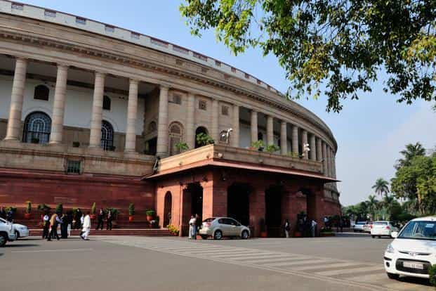 Opposition stalled the proceedings in the lower house of the Parliament over actions of the Shiv Sena and the BJP MP against Muslims. Photo: Priyanka Parashar/Mint