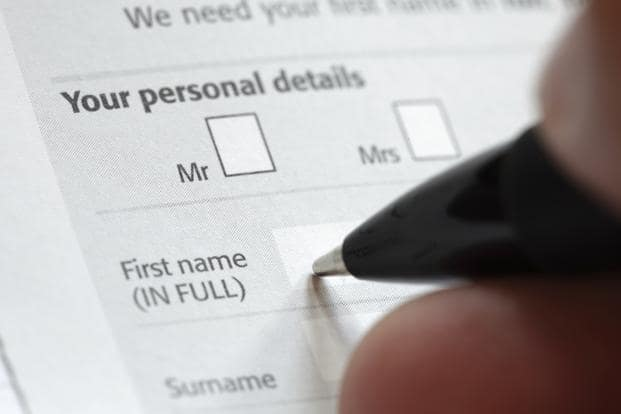 KYC form has changed