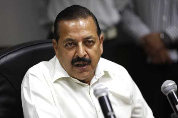 Minister of state for personnel and training Jitendra Singh. Photo: Hindustan Times