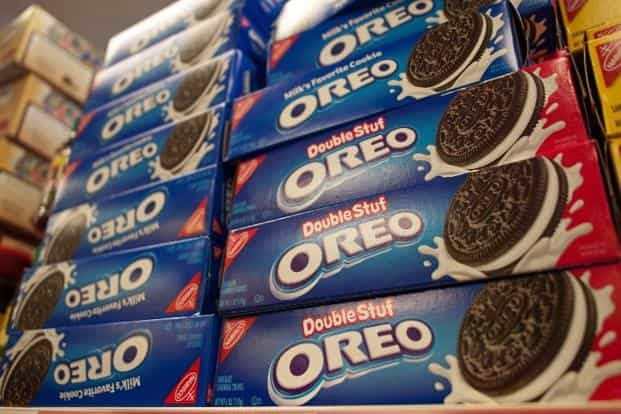 Mondelez India, maker of Oreo biscuits and Tang, announced changes in its management structure as it moved to a new business model in the Asia Pacific region following changes in the parent's operations in North America and Europe. Photo: AFP