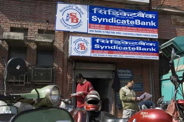 Investors dumped the Syndicate Bank stock on uncertainty over the running of the bank after Jain's arrest. Photo: Mint
