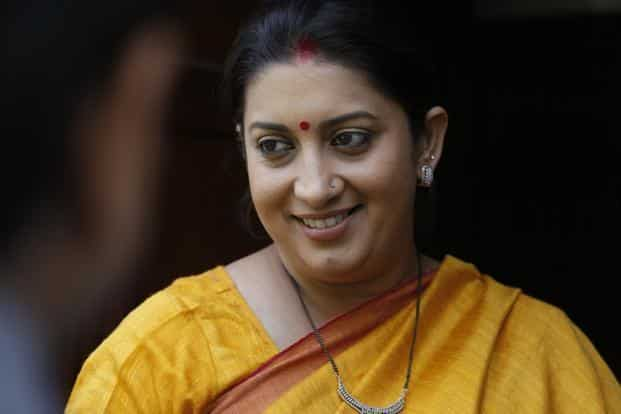 Soon after the Lok Sabha results were announced on 16 May, HRD minister Smriti Irani was at the centre of a controversy over her educational qualification. Photo: Hindustan Times