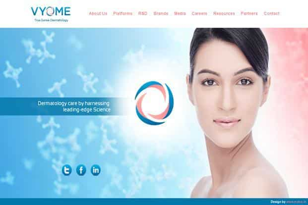 Vyome Biosciences had raised `18.5 crore from IndoUS Venture Partners, with participation from Aarin Capital and Navam Capital in 2012.