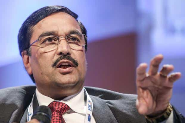 A file photo of S.K. Jain, the suspended chairman and managing director of Syndicate Bank. Jain was caught taking bribe for extending fresh loans to Bhushan Steel. Photo: Bloomberg