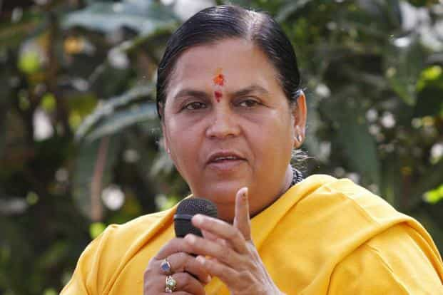 Govt has prepared a plan to build artificial replenishment and rainwater harvesting structures across almost 1 million sq kilometers to harness water during the monsoon, says Uma Bharti.