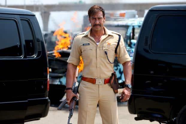 Ajay Devgn in 'Singham Returns'.