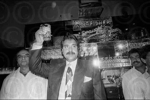 A picture of Vijay Mallya from his younger days. Photo: Dinodia